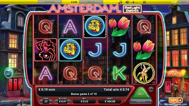 Amsterdam Red Light District slot review