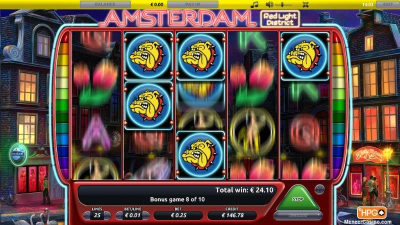 Amsterdam Red Light District slot sticky wilds